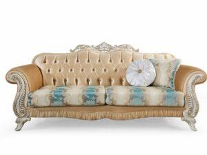 Sofa Tamu Mewah Klasik Gozde